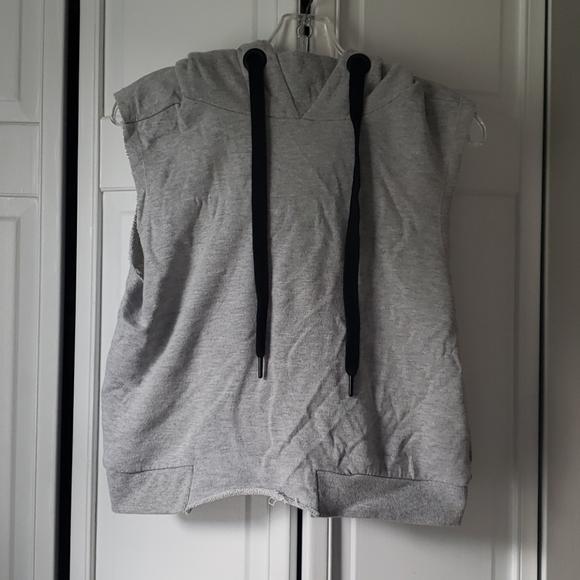 Cutoff hoodie